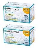 (PM2.5対応)BMC フィットマスク (使い捨てサージカルマスク) レギュラーサイズ 白色 50枚入 ×2個セット