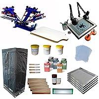 4 Color 1 Station full set starter kit by Screen Printing Kits
