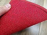 ナイロン100% ラグ カーペット 東リ 防炎 防ダニ 抗菌 190x190cm 絨毯 じゅうたん 約2畳 グレース/GJ1733 レッド