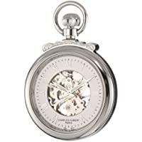 Charles-Hubert, Paris 3903-W Classic Collection Open Face Mechanical Pocket Watch