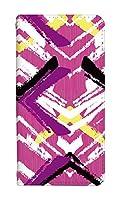 スマホケース 手帳型 [Google Pixel3a] ケース 手帳 0174-D. 線ピンク pixel 3a カバー グーグルピクセル3a ケース 人気 ベルトなし スマホゴ