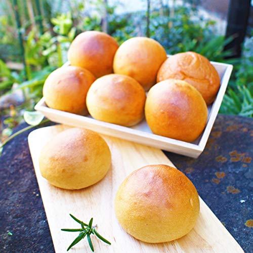 低糖質 大豆丸パン 糖限郷 糖質オフ 三重県産大豆使用 添加物不使用 卵不使用 (1袋8個入)