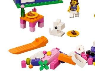 LEGO レゴ 基本セット・ピンクのコンテナ 4625
