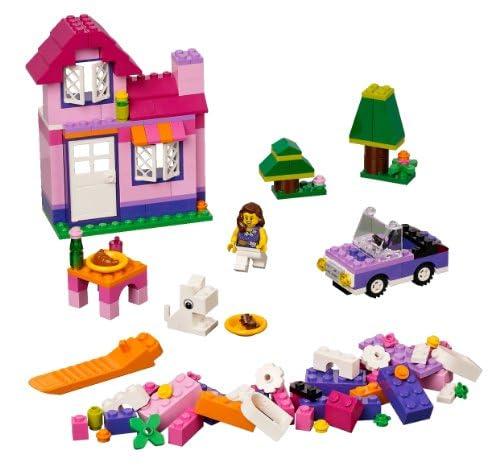 レゴ 基本セット ピンクのコンテナ 4625