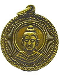 BuddhaジュエリーギフトタイAmulets for Whealth and Lucky For Lifeペンダント