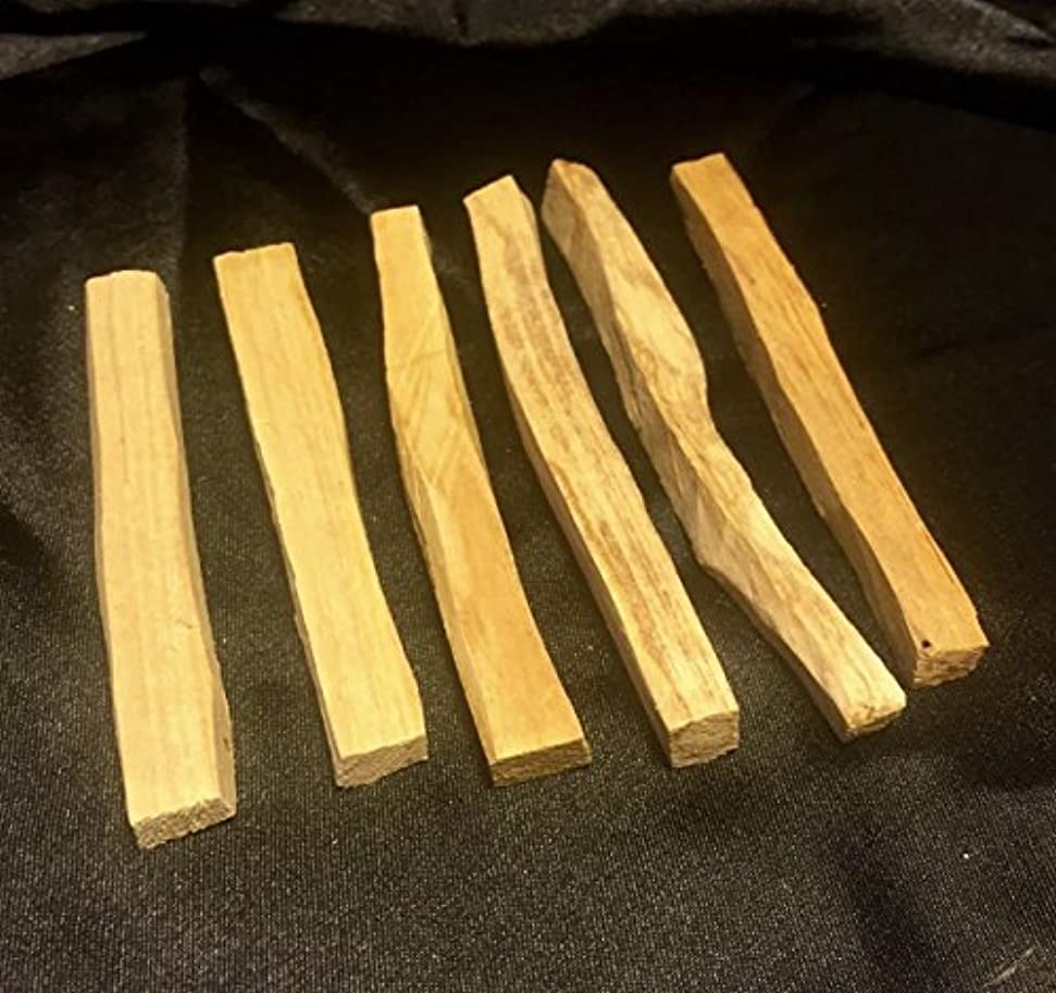 手のひら葉を拾うどこにでもPalo Santo Holy Wood Incense Sticks 25 Pcs
