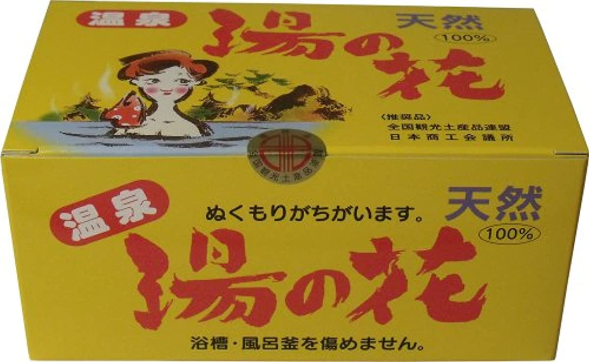 明確にチェリースキーム天然湯の花 徳用箱入 HF25 15g×25袋入 ×6個セット