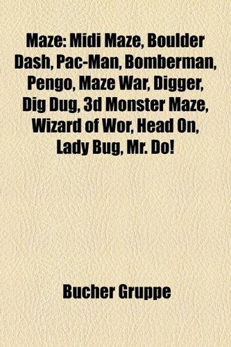 Maze: MIDI Maze, Boulder Dash, Pac-Man, Bomberman, Pengo, Maze War, Digger, Dig Dug, 3D Monster Maze, Wizard of WOR, Head On