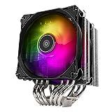 SilverStone デュアル120mm ARGBファン搭載 CPUクーラー SST-HYD120-ARGB
