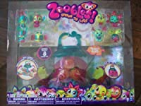 Zoobles Spring to Life: Includes 8 Zoobles & Deluxe Stow Globe