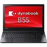 東芝 Dynabook Satellite PB55BFAD4RAAD11 Windows10 Pro搭載 Corei3 4GB HDD500GB DVDスーパーマルチ 高速無線LAN Bluetooth 10キー付日本語キーボード 15.6型LED液晶搭載ノートパソコン Microsoft Office 非搭載