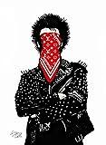 ルイ・ヴィトン DOLK ドルク シュプリーム キャンバスポスター PUNK パンク Louis Vuitton ポップアート #td77 STAR DESIGN A3サイズ(297×420mm) カラー td77c
