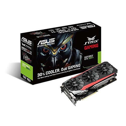 ASUSTek STRIXシリーズ NVIDIA GeForce GTX980Ti搭載ビデオカード オーバークロック メモリ6GB STRIX-GTX980TI-DC3OC-6GD5-GAMING