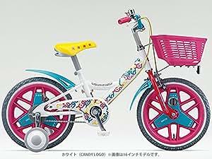 18型 幼児用自転車 X-girl Stages×BRIDGESTONE BIKE(キャンディロゴ/シングルシフト) XGS184
