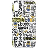 グルマンディーズ iPhone X(5.8インチ) ケース ソフトケース 怪盗グルーシリーズ(ミニオンズ) セリフ mini-56c