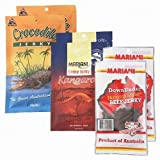 オーストラリア ご当地ジャーキー 3種6袋セット(ビーフ、カンガルー、クロコダイル) 【オーストラリア 海外土産 輸入食品 】175028