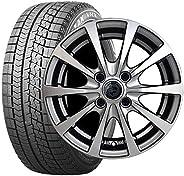 【軽自動車用】ブリヂストン ブリザック VRX 155/65R14 + ホイールセット 【スタッドレスタイヤ・ホイール4本セット】