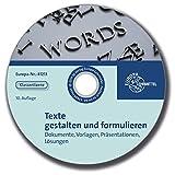 Begleit-CD mit Lösungen zu 81212 - Texte gestalten und formulieren