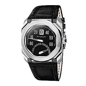 [ブルガリ]BVLGARI 腕時計 オクトレトログラード ブラック文字盤 BGO38BSLDBR メンズ 【並行輸入品】