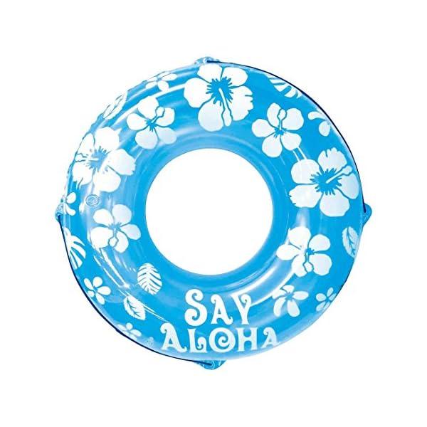 ドウシシャ 浮き輪 SayAloha ブルー 1...の商品画像