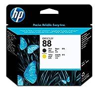 HP 88 Black & Yellow Original Printhead (C9381A) for HP Officejet Pro K8600 K5400 K550 L7580 L7590 L7680 L7780 [並行輸入品]