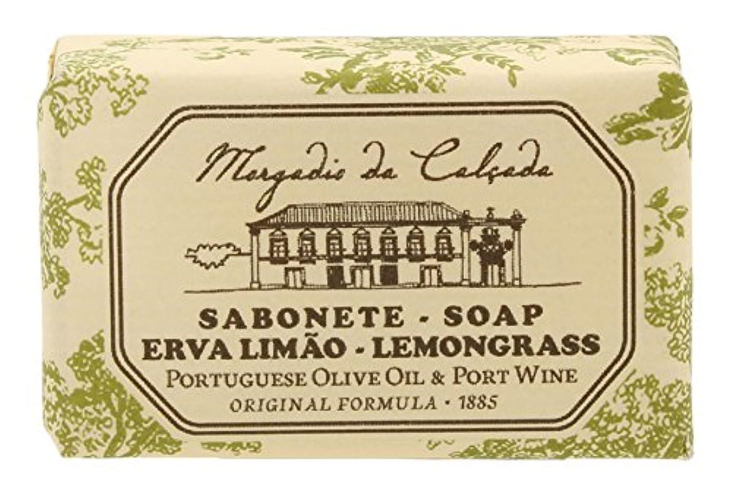 手数料遺伝的機知に富んだモルガディオ ダ カルサダ ソープ レモングラス 35g