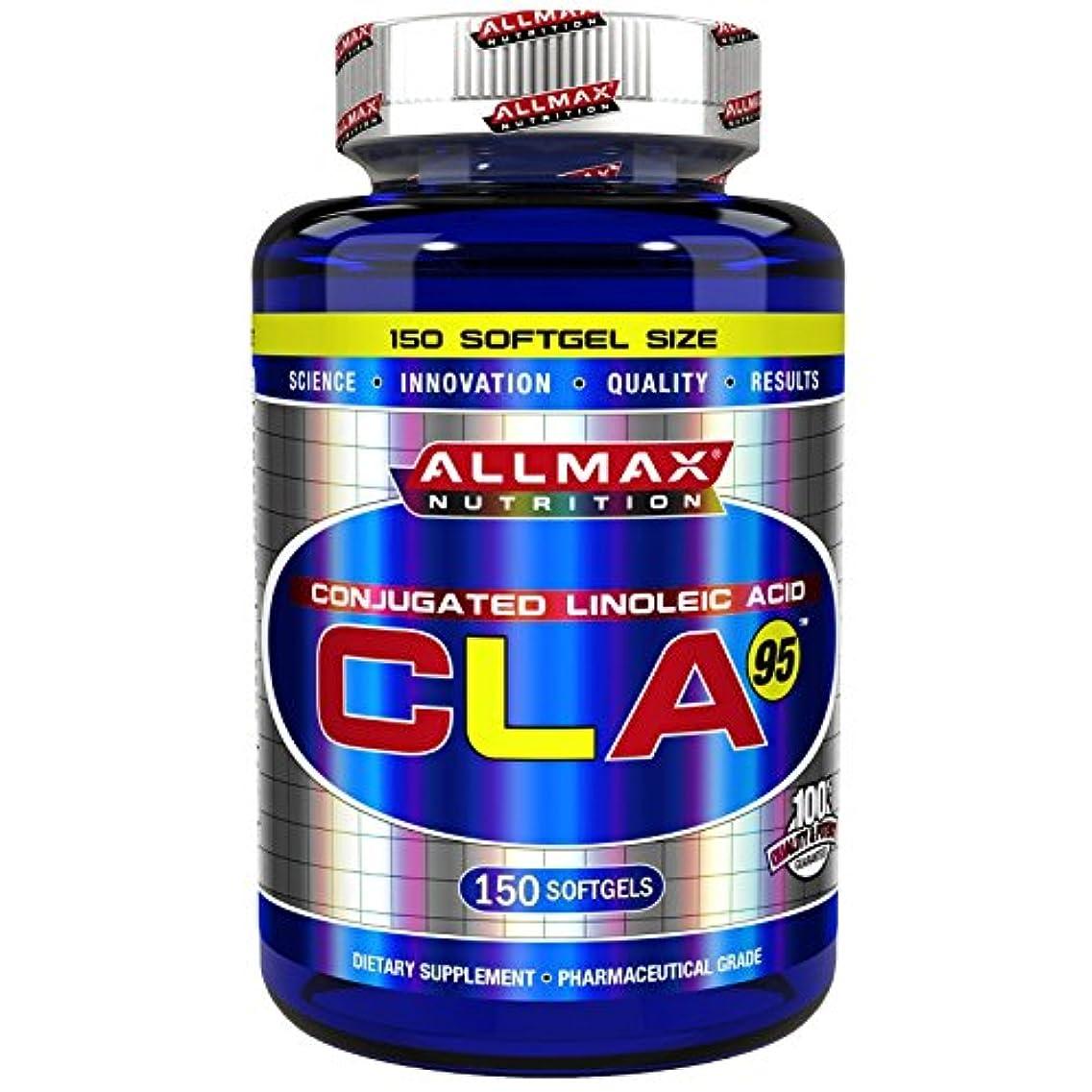 ではごきげんよう学校ジョグ海外直送品 Allmax Nutrition CLA 95 150 Softgels
