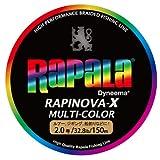 ラパラ(Rapala) PEライン ラピノヴァX マルチカラー 150m