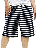 コンバース サイズ CONVERSE(コンバース) 大きいサイズ メンズ ショートパンツ ブランド ロゴ 刺繍 ボーダー スウェット