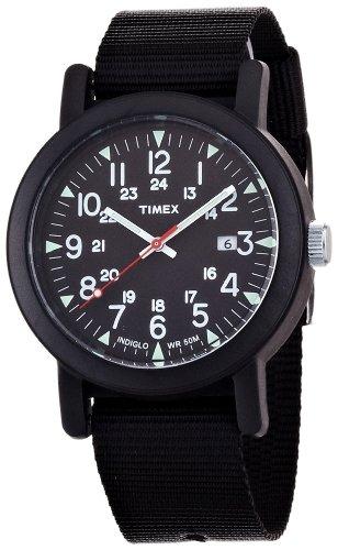 オーバーサイズキャンパー ブラック T2N364  メンズ タイメックス