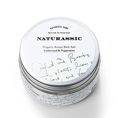 ナチュラシック [ACO認定] オーガニックアロマバスソルトCP シダーウッド&ペパーミントの香り 250g [オー...