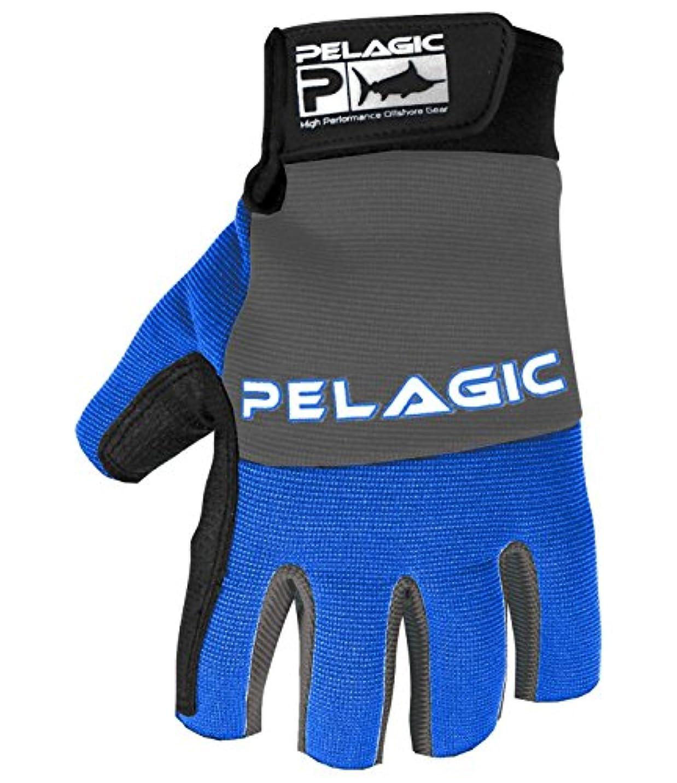 変更可能可聴実行するPelagic Battle釣り手袋| heavy-duty Kevlar Lined | Sureグリップデザイン