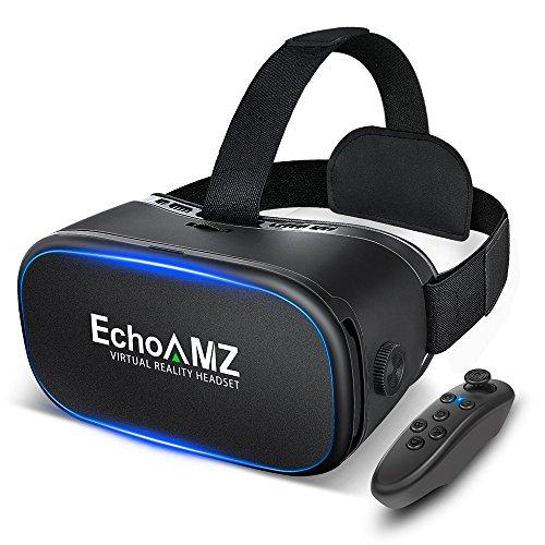 EchoAMZ 3D VRゴーグル Bluetoothコントロ...