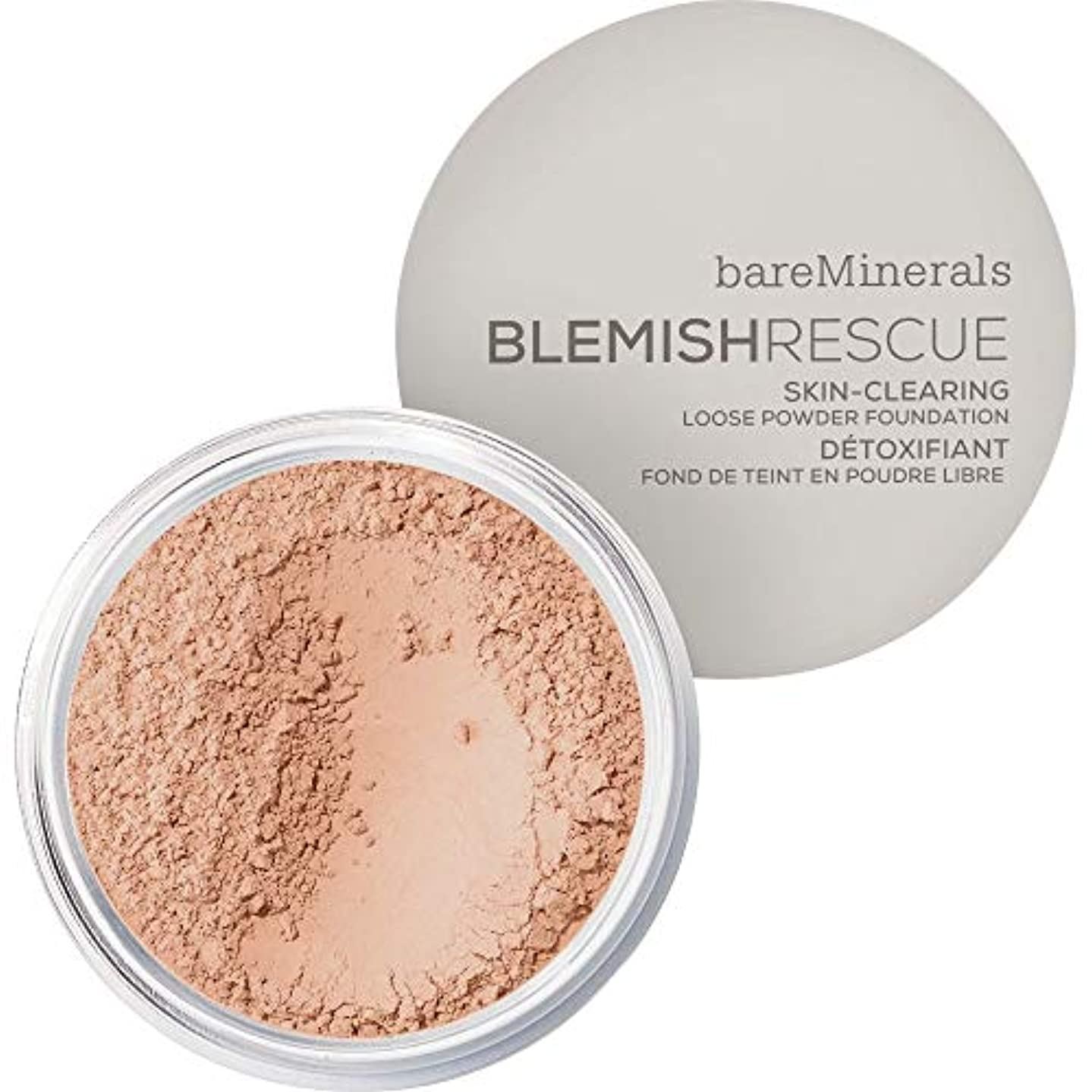 衝撃露乱れ[bareMinerals ] メディア - ベアミネラルは、レスキュースキンクリア緩いパウダーファンデーションの6グラム3Cは傷 - bareMinerals Blemish Rescue Skin-Clearing...