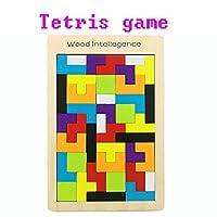 木製子供のTetris Game/パズルボード