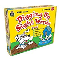 scbtcr7812–3–Digging Up Sight Words Game Ages 6パックof 3