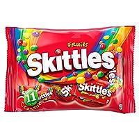 フルーティーキャンディー | Skittles | フルーツ11個 | 総重量 198 グラム