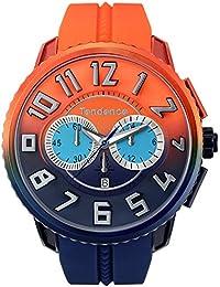 [テンデンス]TENDENCE 腕時計 GulliverDeColor ダークブルー/オレンジ文字盤 TY146104  【正規輸入品】