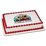 Whimsical Practicality Transformers Robots in Disguise Edible Icing Image for 1/4 Sheet Cake [並行輸入品]