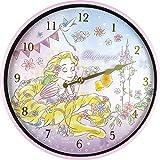 ティーズファクトリー 掛け時計 ラプンツェル Φ30×D4cm ディズニー ファンタイムインデックス ウォールクロック DN-5520180RA