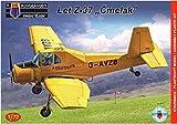 KPモデル 1/72 LET Z-37 チメラック (丸鼻蜂) 農業用航空機 プラモデル KPM0120