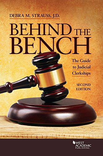 Behind the Bench: The Guide to Judicial Clerkships (Career Guides)の詳細を見る