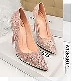 36(23.0)走れる 美脚パンプス ハイヒール ピンヒール ハイヒールサンダル ポインテッドトゥ 婦人靴 ハイヒール 大きいサイズ 通勤 結婚式 パーティー