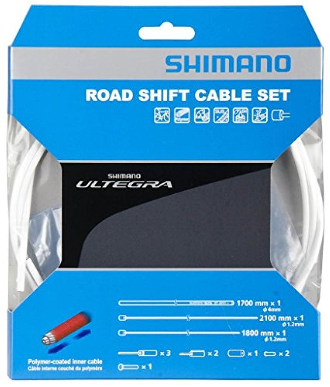 再生助けて歯科医SHIMANO(シマノ) 6800シリーズ ロードポリマーコーティングケーブルセット シフト用 イエロー Y00F98980