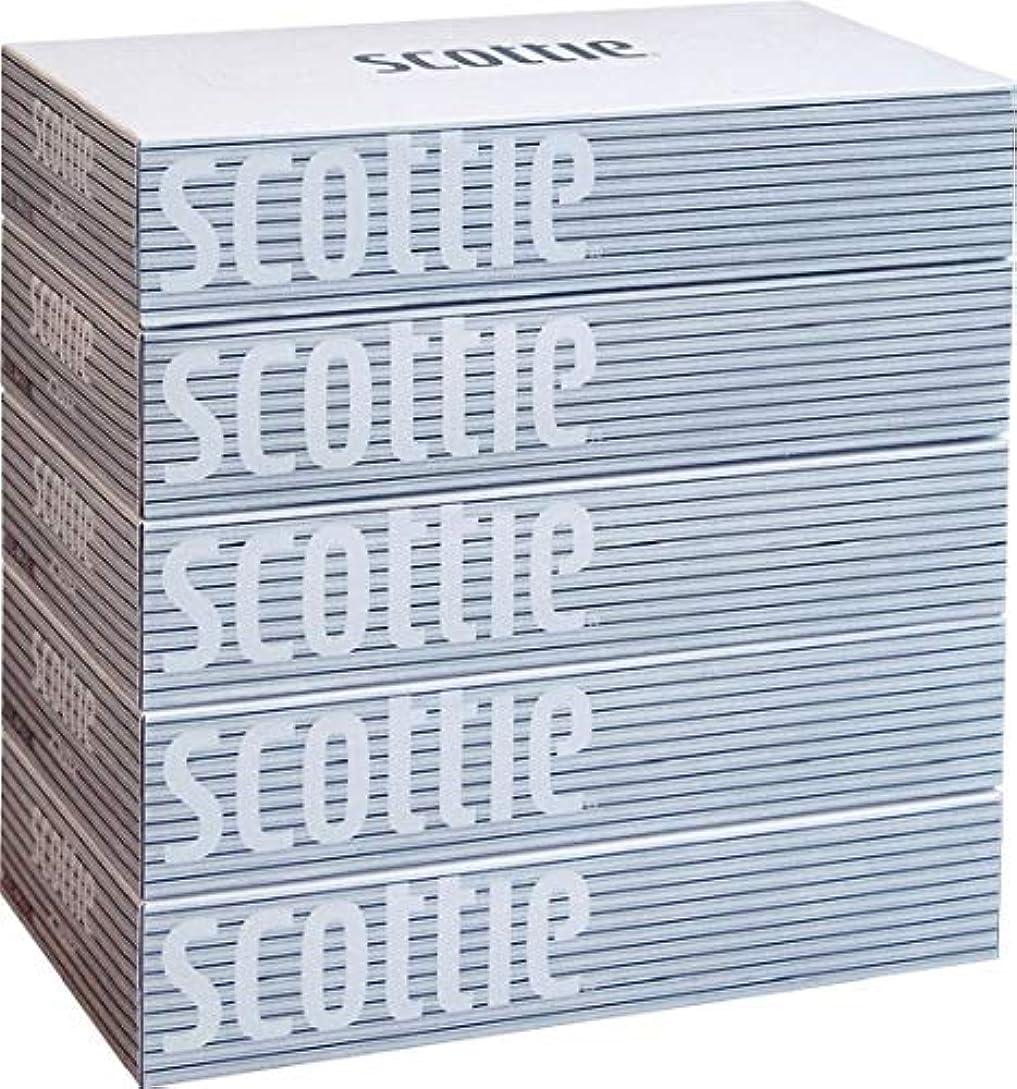 発信描写抵当ケース販売 スコッティ ティシュー 400枚(200組) 5箱×24個