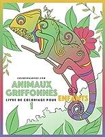 Animaux Griffonnés (Livre De Coloriage Pour Enfants)