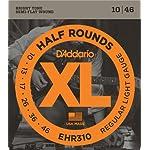 D'Addario ダダリオ エレキギター弦 403ステンレススチール・ハーフラウンド Regular Light .010-.046 EHR310 【国内正規品】