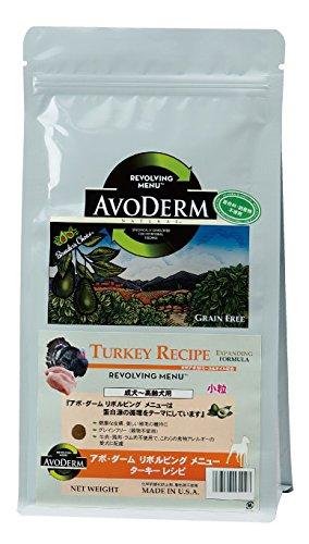 アボ・ダーム (AVODERM) リボルビングメニュー ターキーレシピ 成犬~高齢犬用 2.4kg