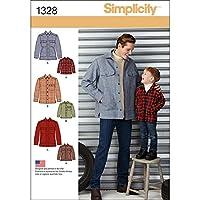 Simplicity Men Boy Tops Vests-S - L / S - XL (並行輸入品)