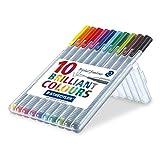 ステッドラー 細書きペン トリプラス ファインライナー   10色